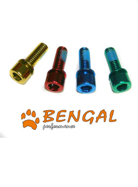 Bolts BENGAL M6x18 Post Mount Gold (4)