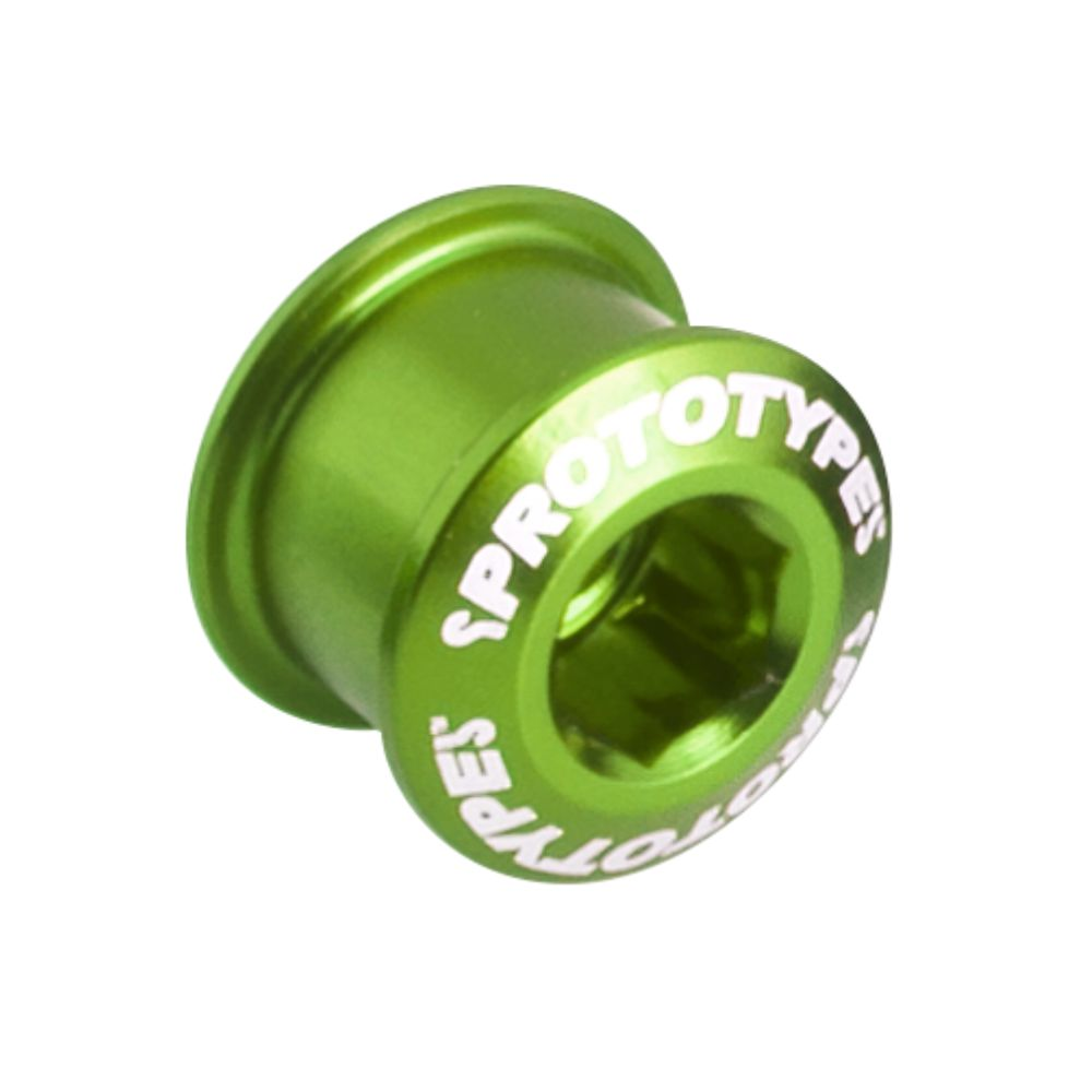 Chainring Bolt PROTOTYPE Long 85 (x5) Green